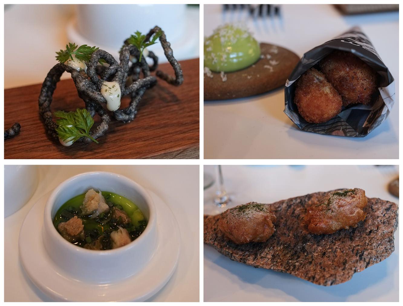 Fire snacks på Castenskiold ved åen