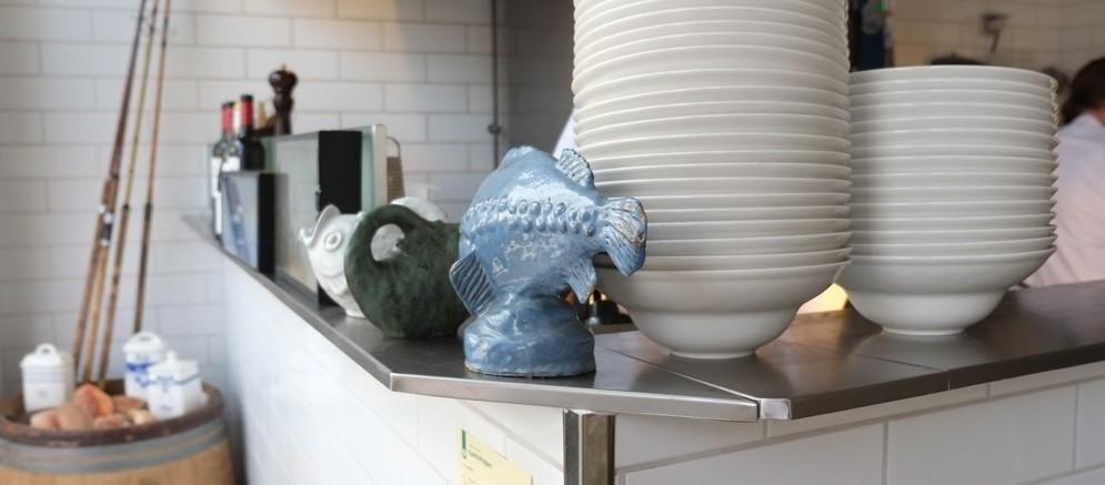 Fisken på Klasisk Fisk i Nørregade