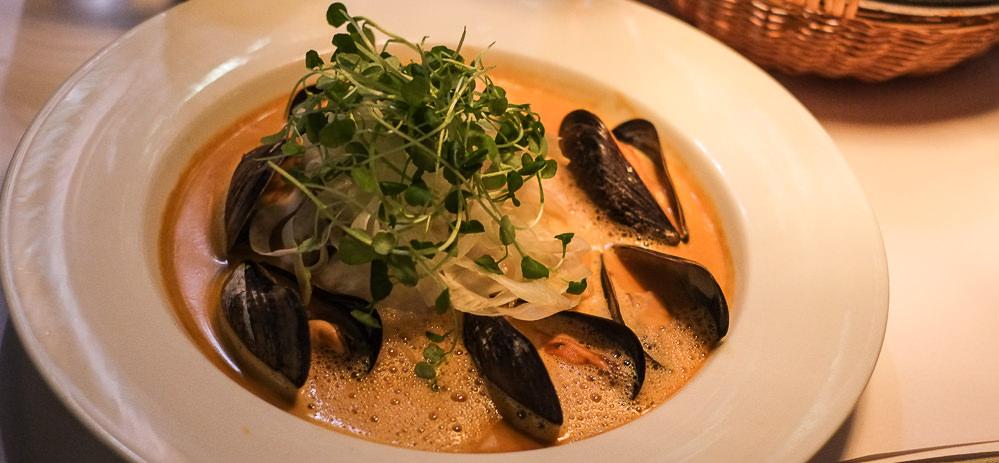 Fiskesuppen på Café Casablanca