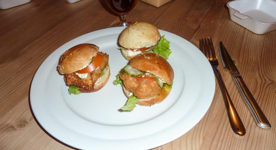 Flere miniburgere fra Rodizio på Clemens Bro