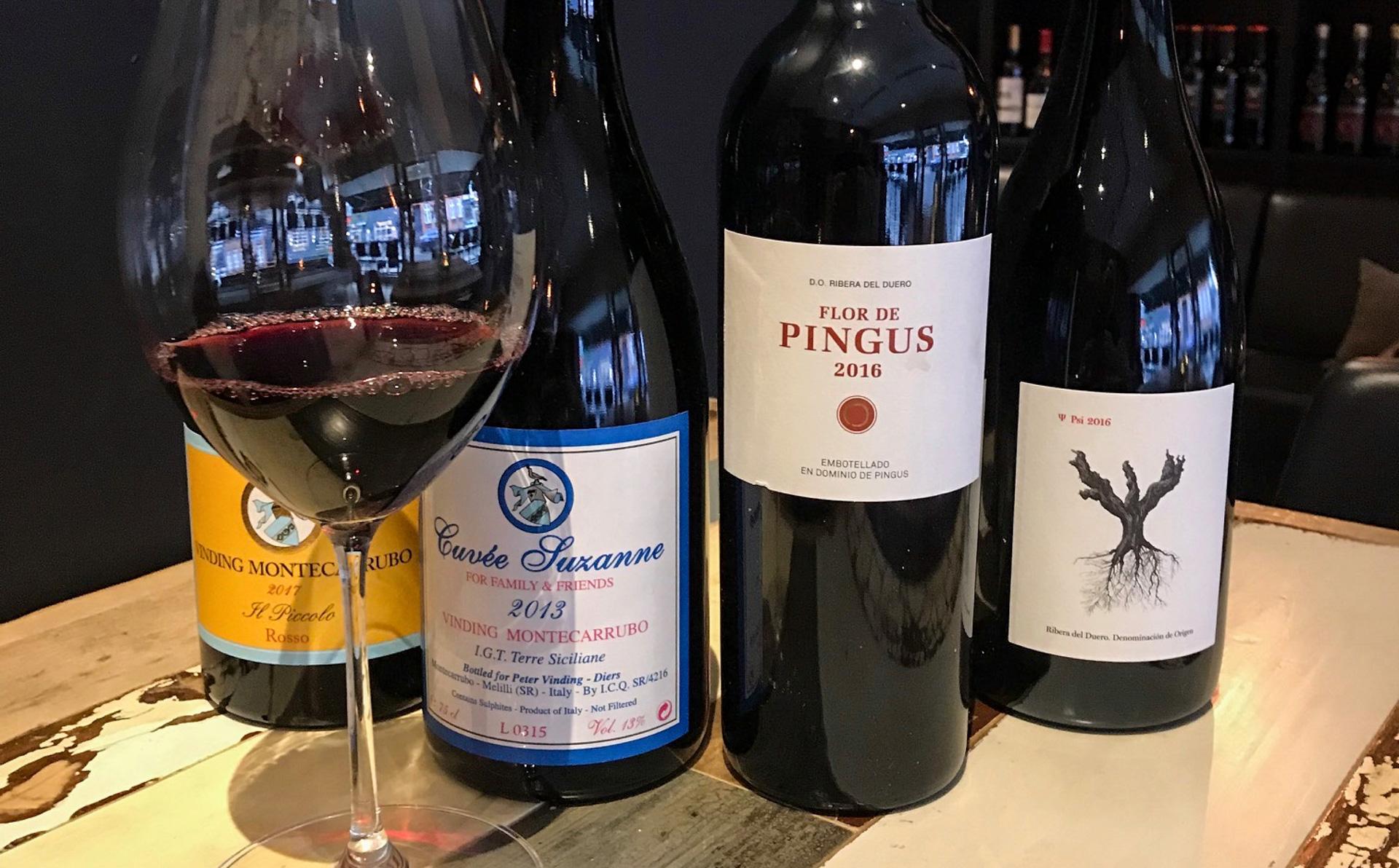 Din Vinbar i Jægergårdgade: Vinsmagning med blandt andet Flor de Pingus