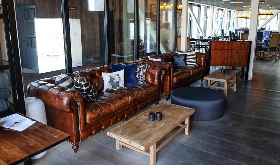 Flot indretning på Restaurant Remouladen i Vejle