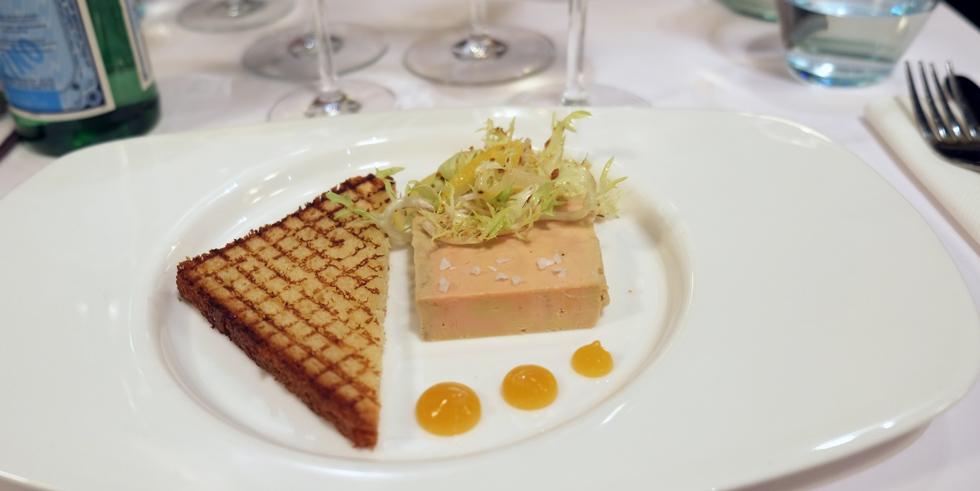 Foie gras terrine på TGV Café i Aarhus