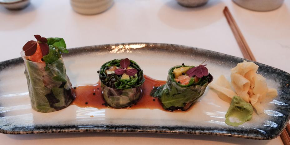 Forret til menuen hos A+ Siam Sushi i Skolegade