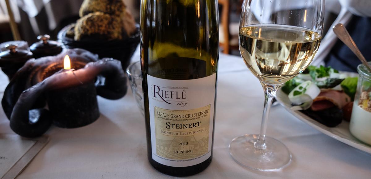 Forrygende godt glas vin på Malling Kro