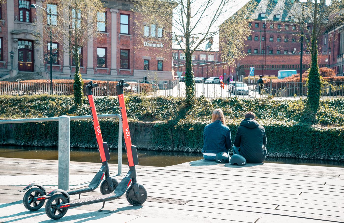 150 elektriske deleløbehjul: Torsdag ruller de elektriske løbehjul ud i Aarhus