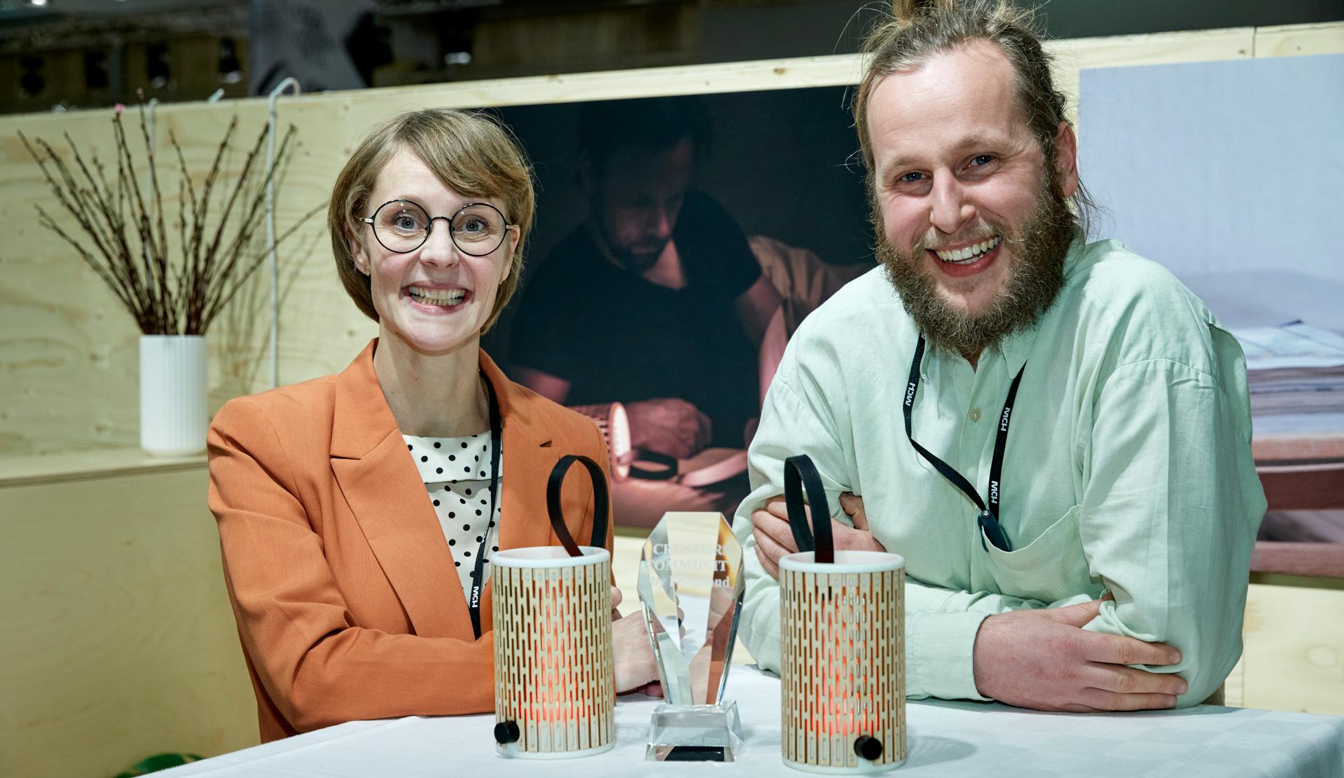 Aarhusvirksomhed vinder 1. plads i konkurrencen om Creators Community Design Award