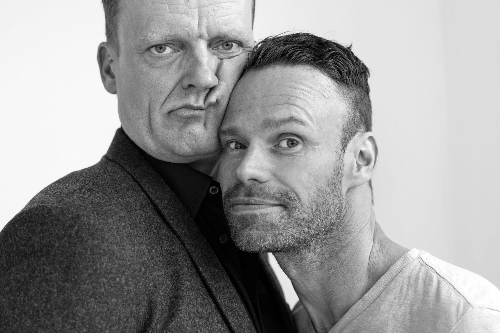 Det gode selskab: Frank Hvam og Mick Øgendahl i et forrygende, fandenivoldsk og sjovt show