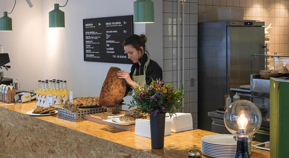 Friskbagt brød hos Bernth & Co