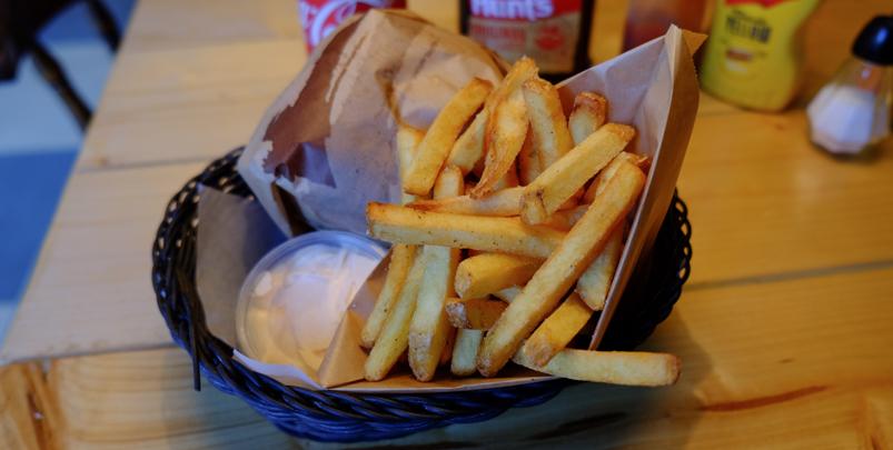 Fritterne på Murphy's Burger Joint