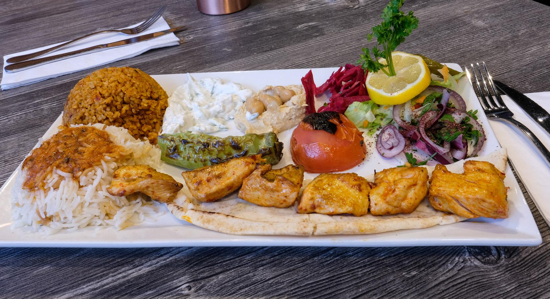 Restaurant Sultan Palads: Stor frokost fra kulgrillen til kun 59 kroner
