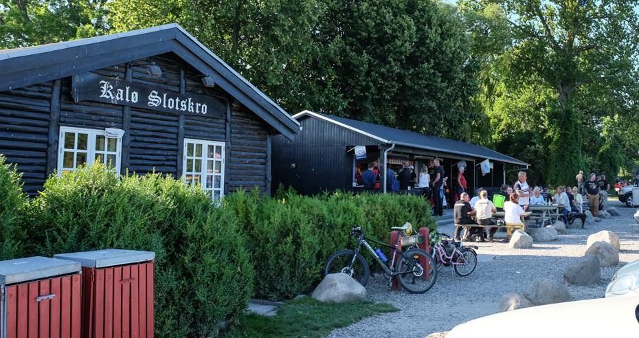 Fuld hus på Kalø Slotskro