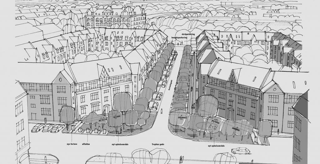 Plads til flere biler: Mere end hundrede nye p-pladser på Frederiksbjerg