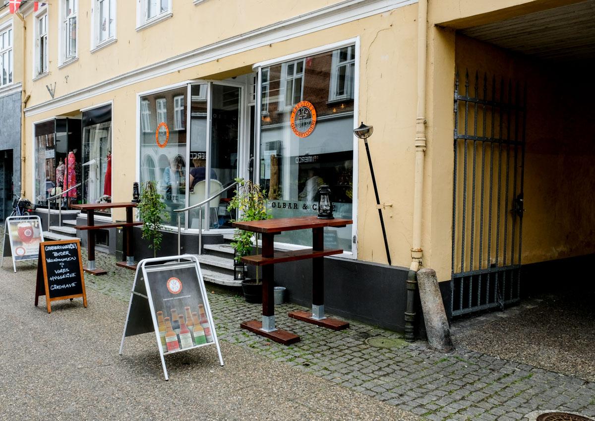 Gårdbryggeriet i Grenå set udefra gaden - Aarhus Update
