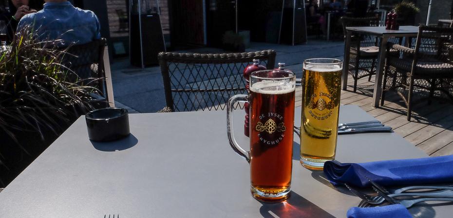 Ganske gode øl på Restaurant Remouladen i Vejle