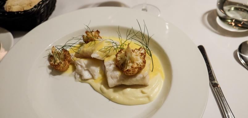 Gennemført god torsk på Restaurant Gäst