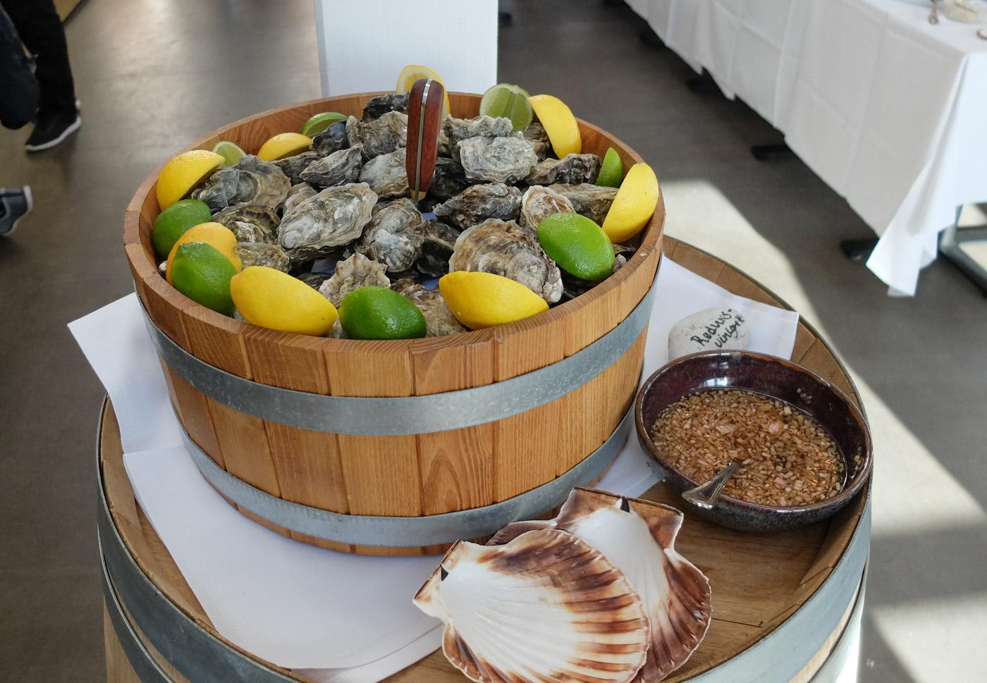 Skaldyrsfestival på Badehotellet: Mekka for fisk og skaldyr er flyttet til Kaløvig