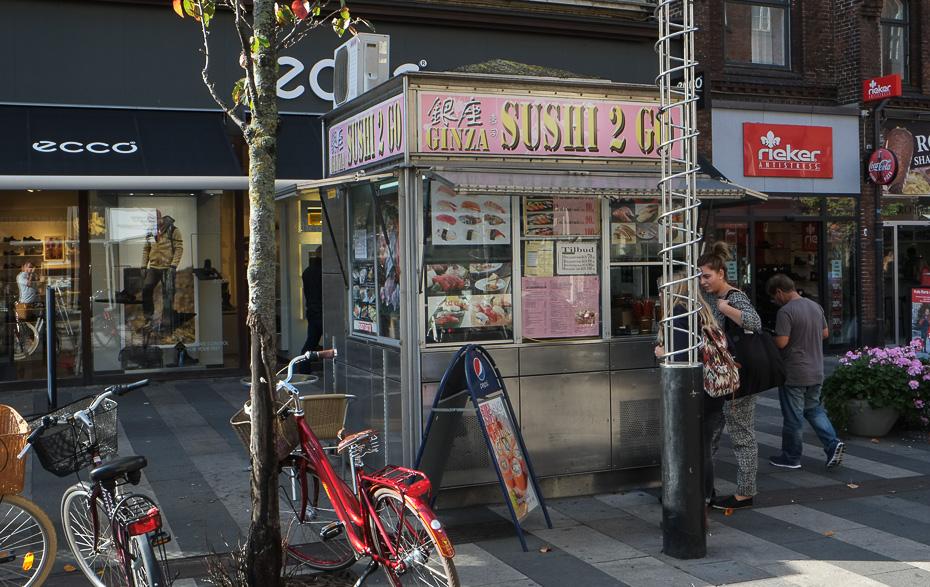 Ginza Sushi i Aarhus
