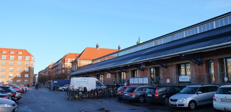 Godsbanen i Aarhus C