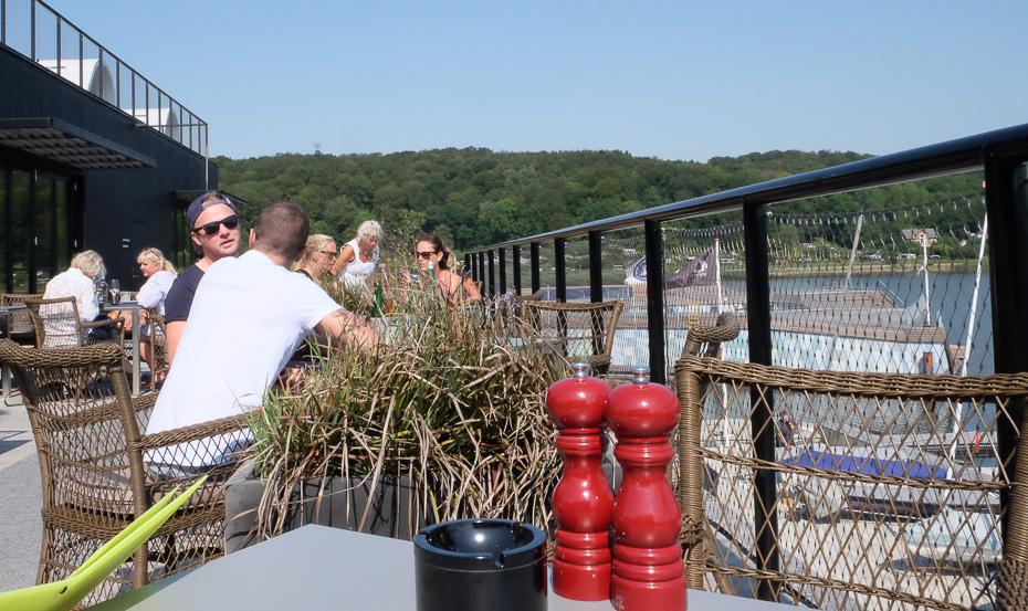 Godt med gæster på Restaurant Remouladen i Vejle
