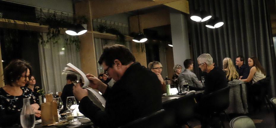 Restaurant V anmeldelse - godt med gæster en tidlig aften