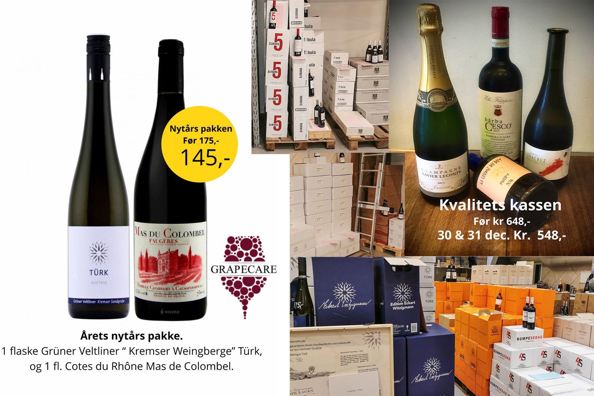 Nytårs-kup på vinlageret i Højbjerg: Traditionen tro sælges der vin til engrospriser - og smag vinen, før du køber den