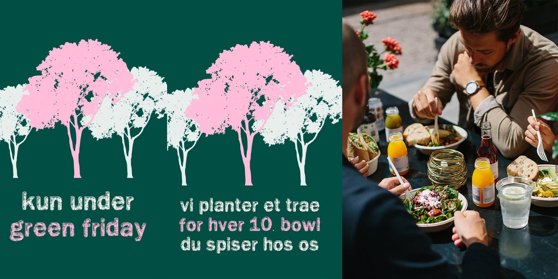 """Oprør mod Black Friday: Green Neighbour holder Green Friday og planter """"Klimatræer"""""""