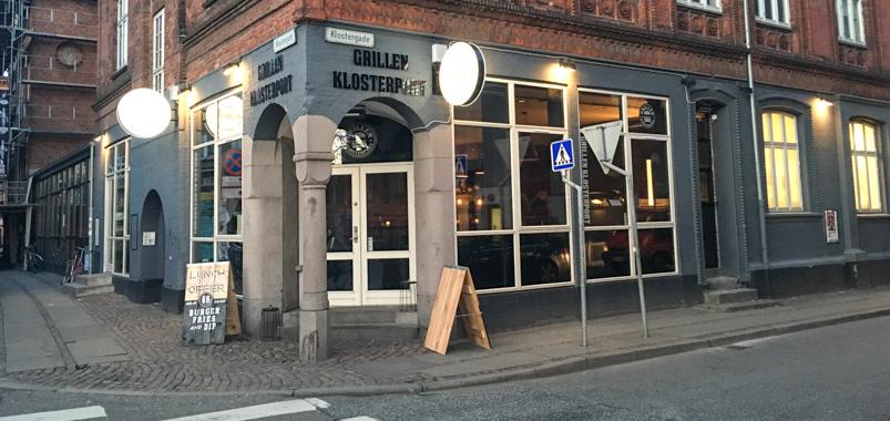 Grillen Burgerbar i Aarhus