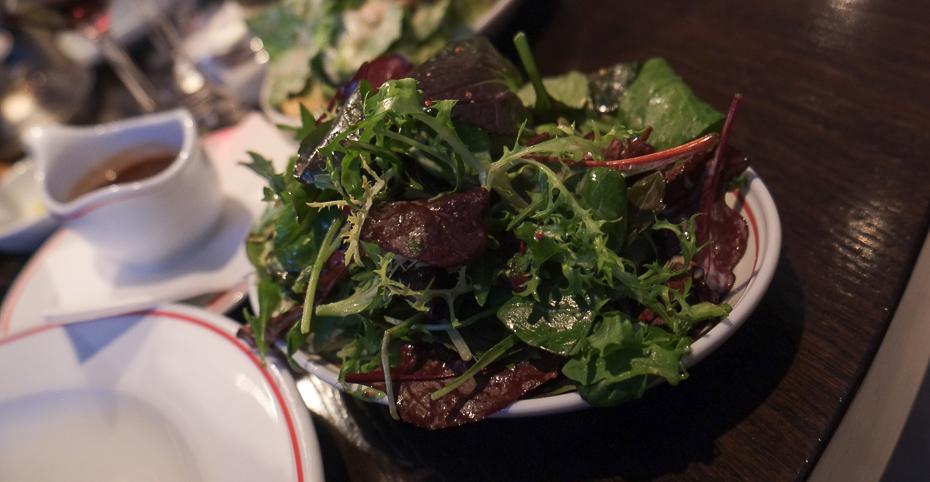 Grøn salat til steaken - MASH i Aarhus