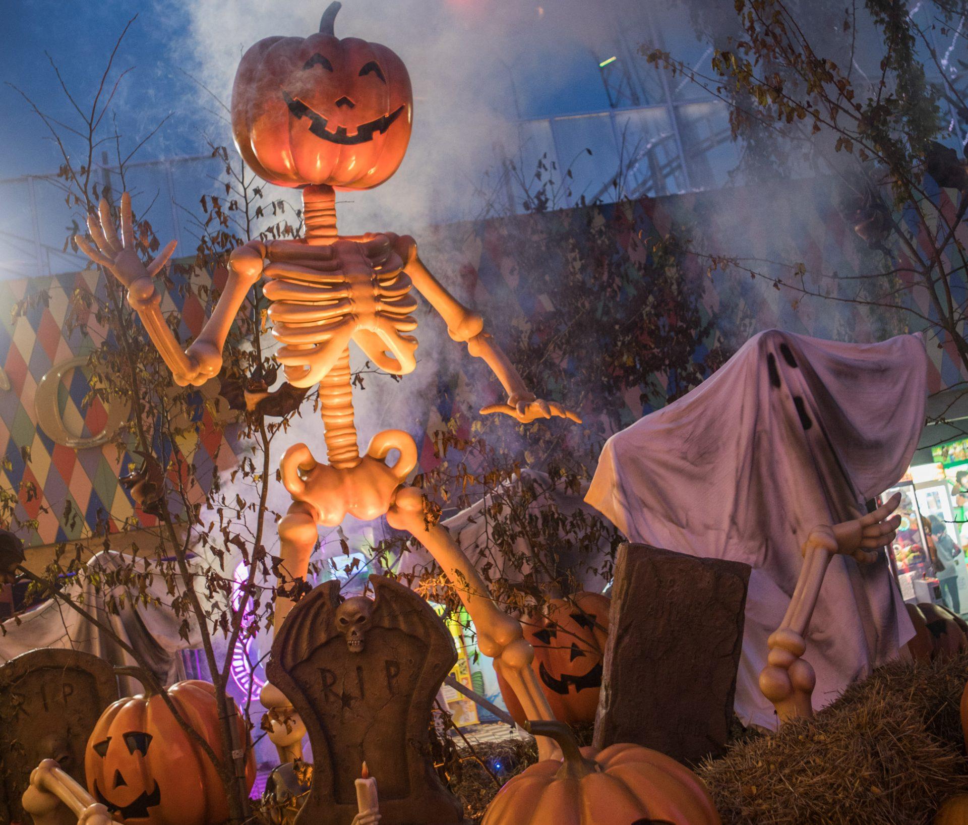 Halloween i Friheden: Efterårsferien bliver fyldt med gys & gru