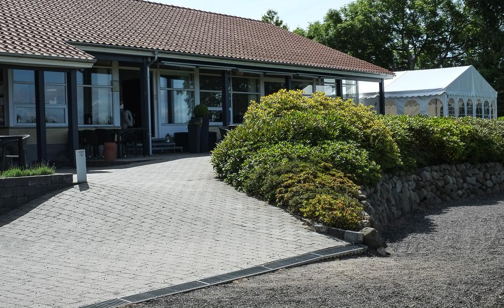 Haveteltet ved Restaurant Unico i Højbjerg