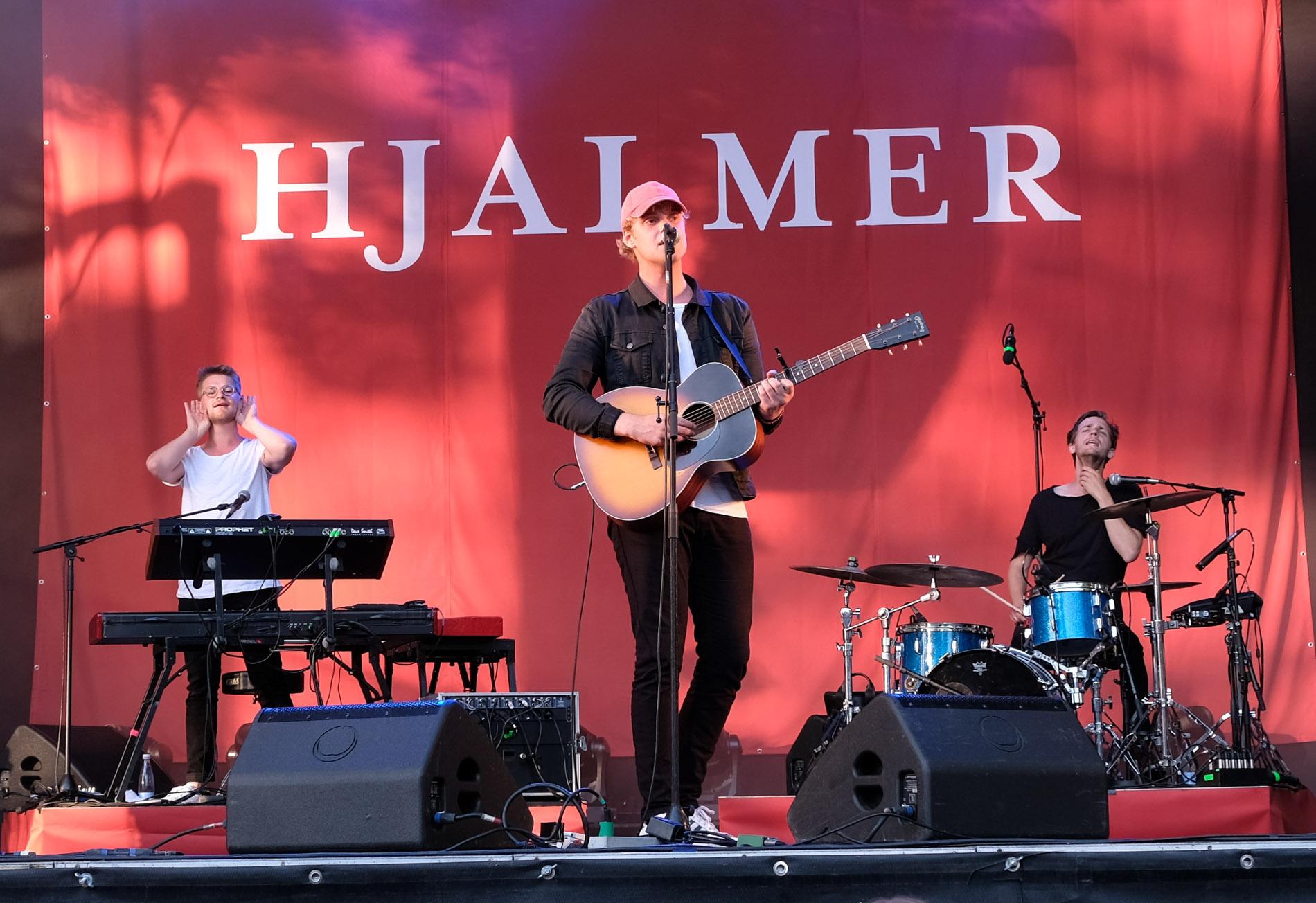 Hjalmar: Sprudlende musikalsk talent til Fed Fredag