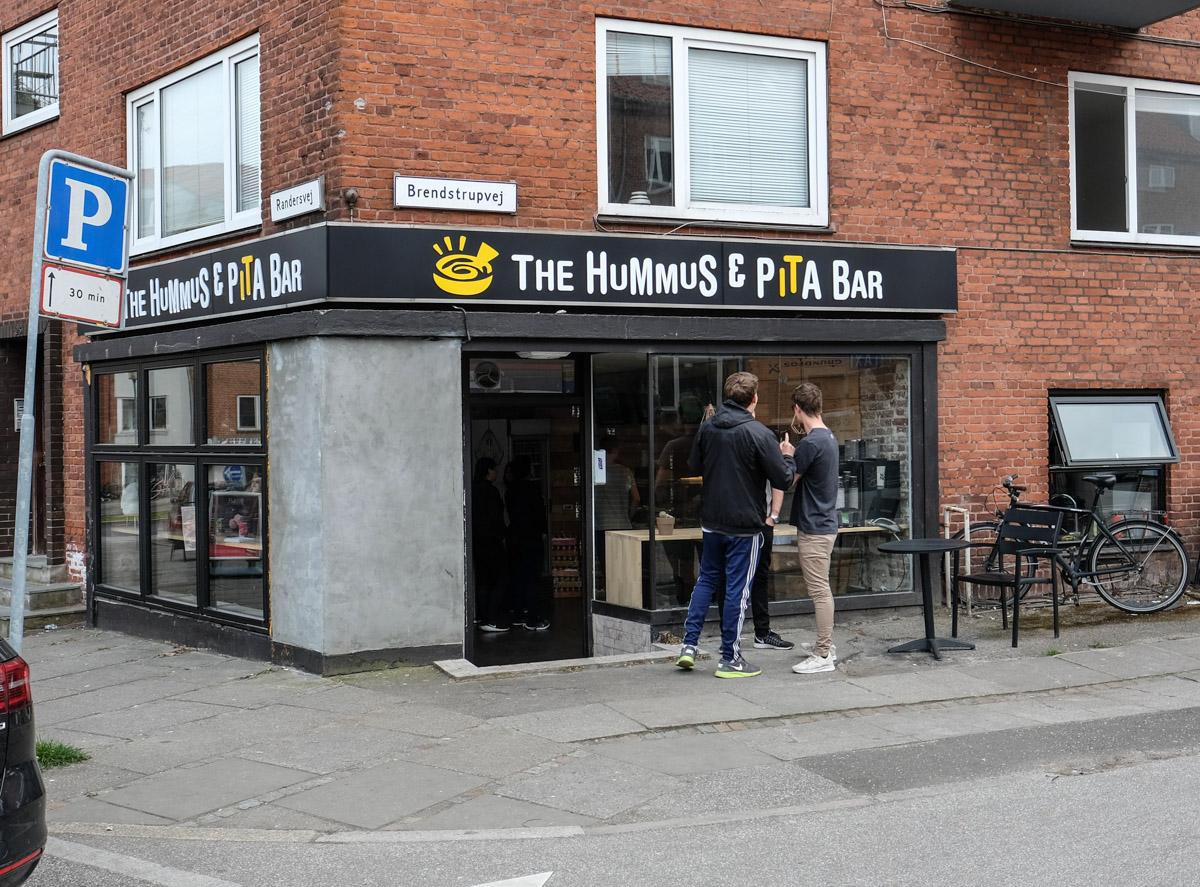 Hummus & Pita Bar i Aarhus N