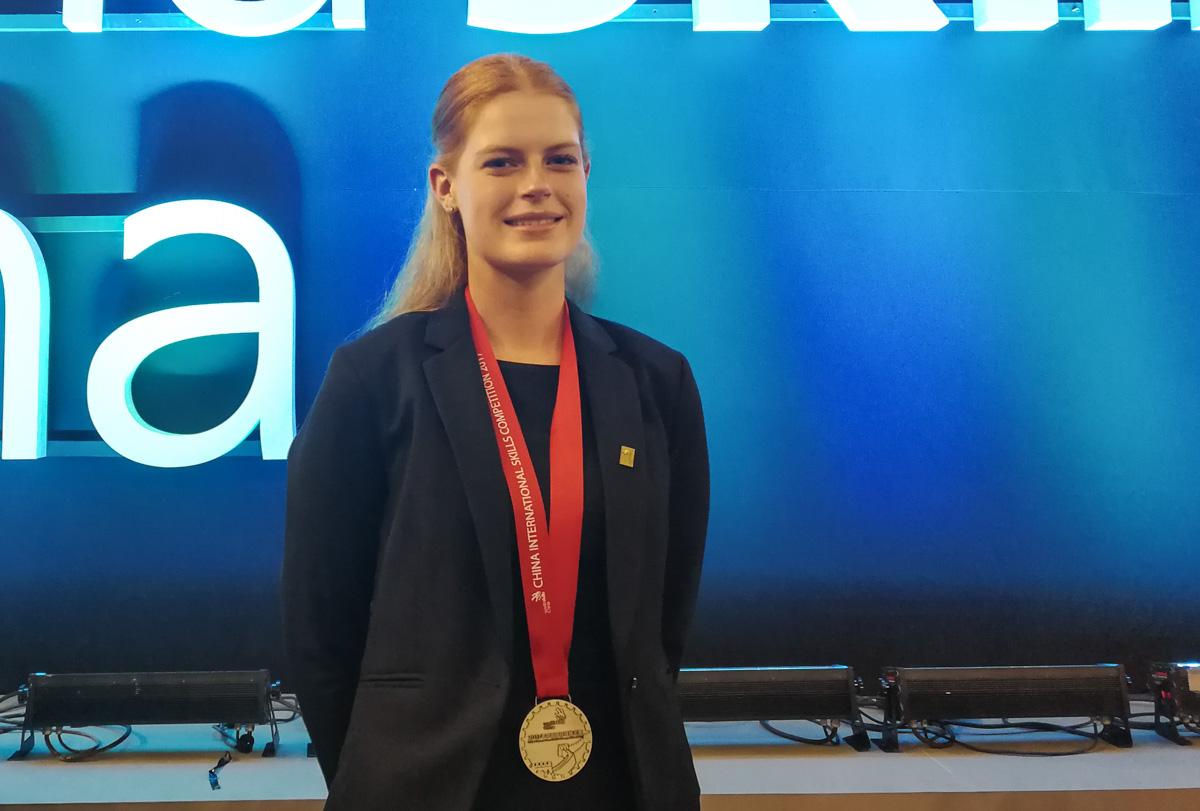 Emma Hoff Hjorth til WorldSkills 2017