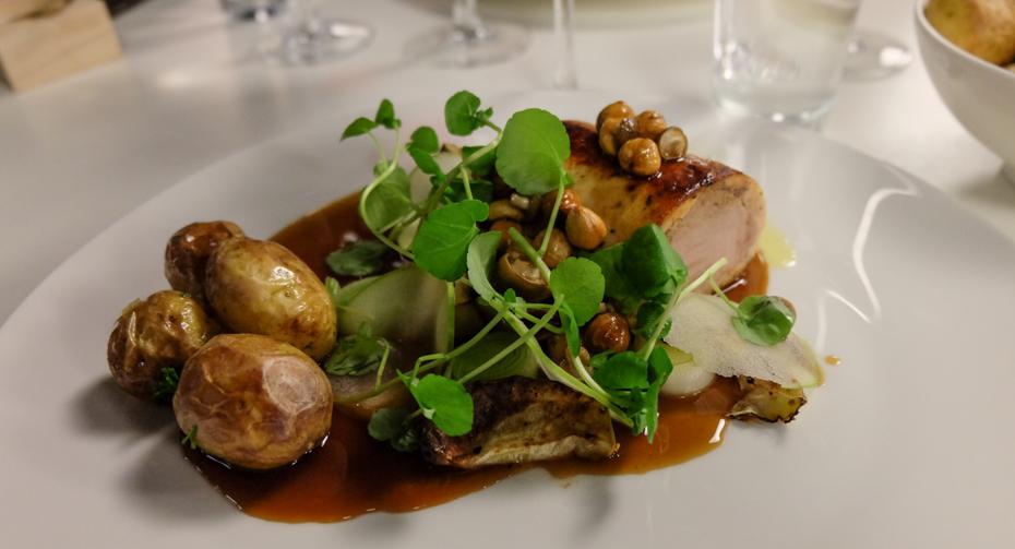 Indbagt svinemørbrad - Restaurant No. 19 på Lyngbygaard_