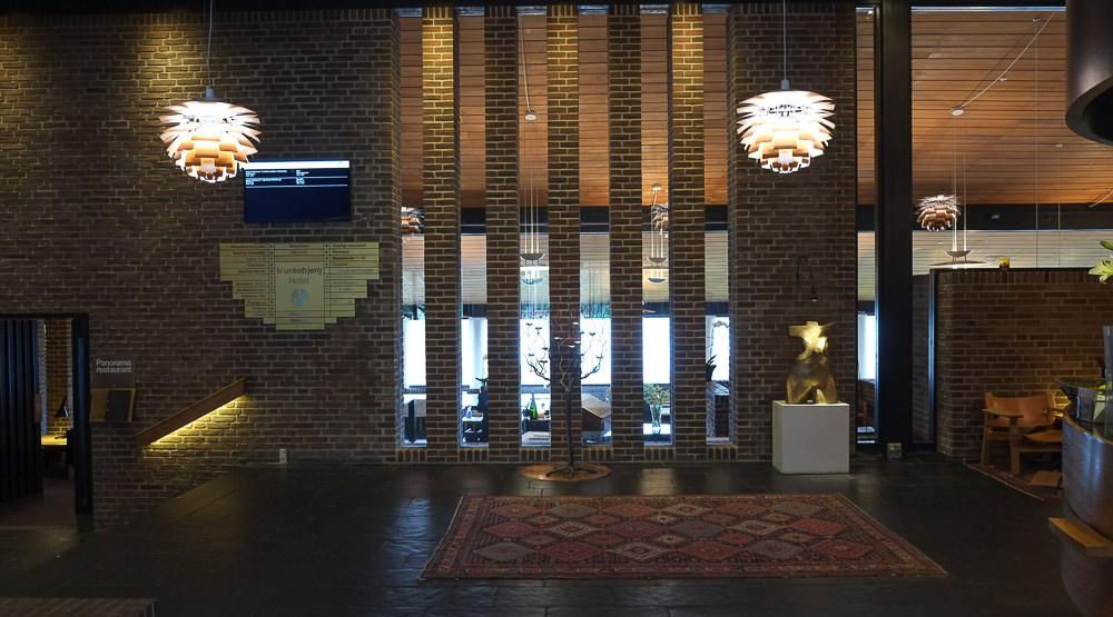 Indgangen til Restaurant Tree Top i Vejle