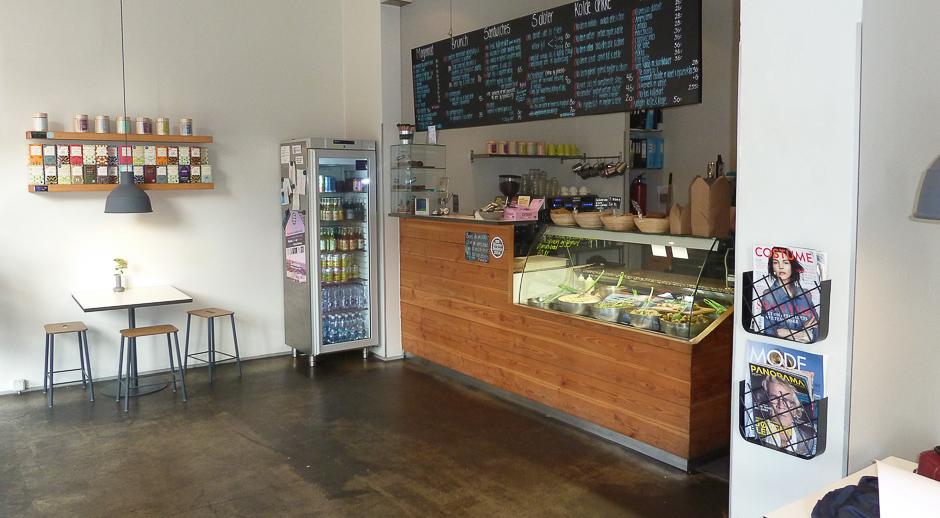 Indretning hos Café GLAD! i Aarhus