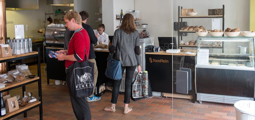 Indretning hos Foodfein i Aarhus