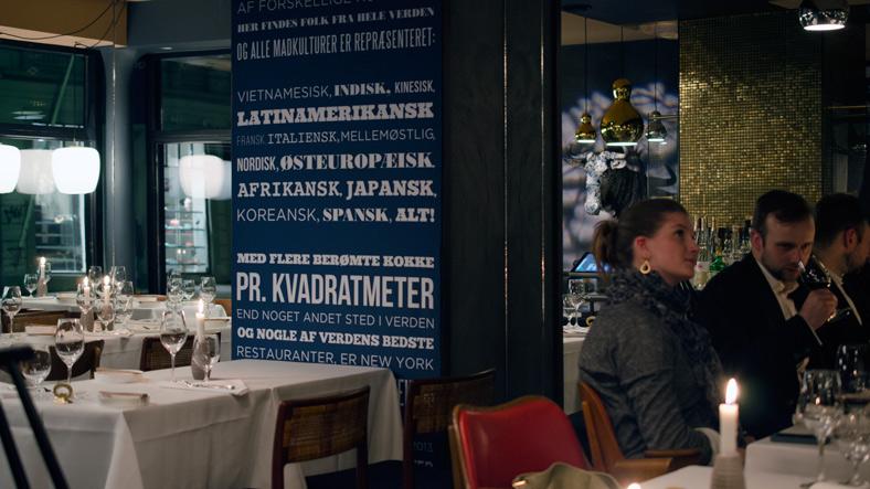 Indretning på Nordisk Spisehus