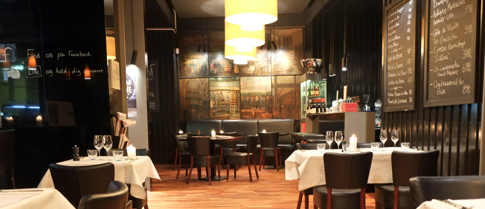 Indretning på TGV Café i Aarhus
