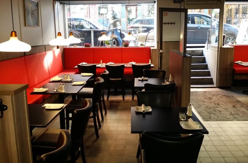 Indretningen hos City Café i Aarhus_