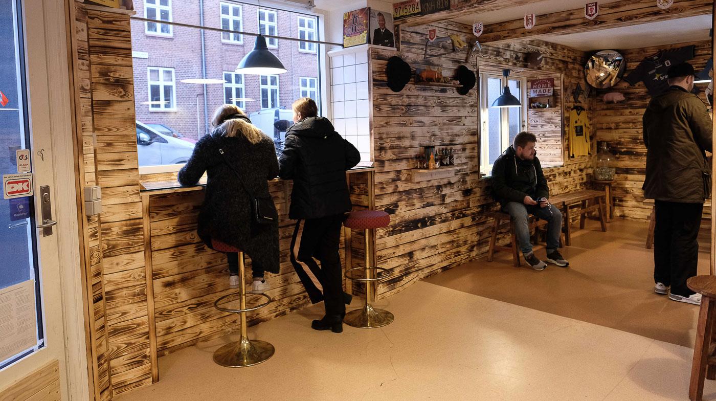 På Trøjborg laver de Danmarks bedste burger:Idéen kom på en bytur