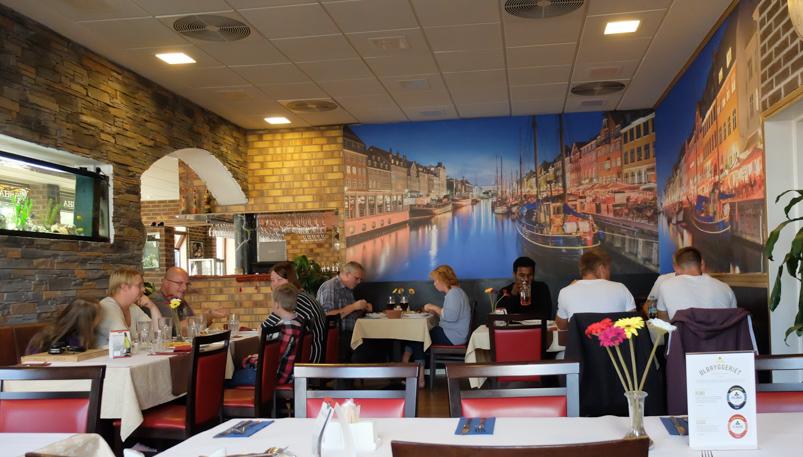 Indretningen hos Restaurant & Café_