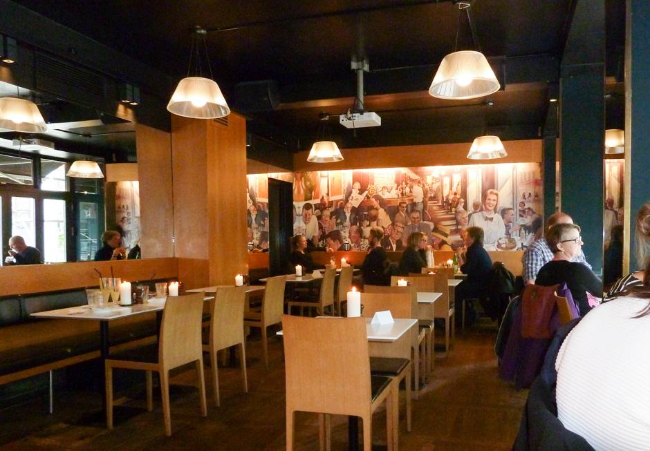 Indretningen på Café Viggo