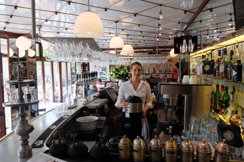 Indretningen på Casablanca i Aarhus_