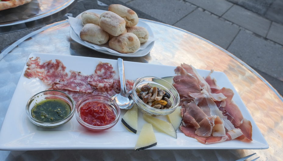 Italiensk tapas hos Ispirazione i Ålborggade