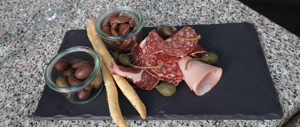 Italienske snacks på Restaurant Martino i Aarhus