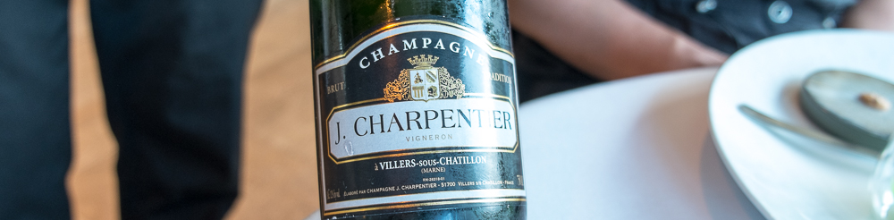J. Chapentier Champagne på Frederikshøj