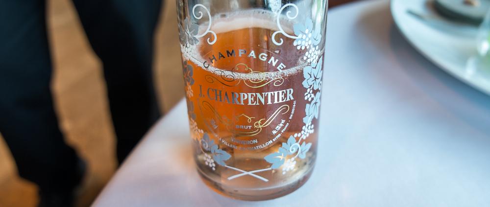 J. Charpentier, rosé på Frederikshøj