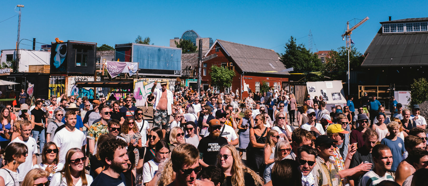 Gadefestival under Ringgadebroen: Offentliggørelse af Aarhus Volume Under Gaden 2019